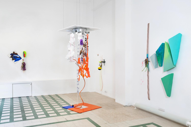 Galleria Raffaela Cortese: Jessica Stockholder Glimpse May 28 – Sep 10, 2014 Milan, Italy