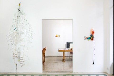 Galleria Raffaela Cortese: Jessica Stockholder Glimpse May 28 – Sep 10, 2014 Milan, Italy