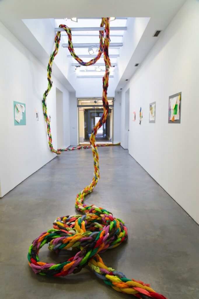 Tied to be fit installation view